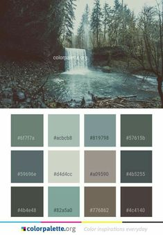 Fantastic Pictures Color Palette nature Popular If you're newcomer as well as a well used fretting hand, understanding shade is actually the singl Bedroom Paint Colors, Interior Paint Colors, Paint Colors For Home, House Colors, Natural Paint Colors, Nature Color Palette, Colour Pallette, Colour Schemes, Rustic Color Palettes