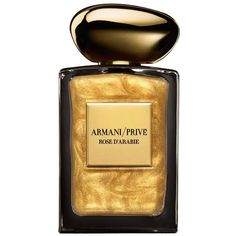 Giorgio Armani Rose D'Arabie L'Or Du Desert (EDP, 100ml) ($330) ❤ liked on Polyvore featuring beauty products, fragrance, giorgio armani fragrance, edp perfume, giorgio armani perfume, eau de perfume and giorgio armani
