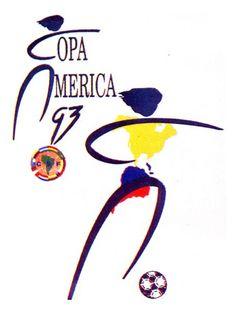 1993, Copa America Ecuador #Ecuador1993 #CopaAmerica #AmericaCup (L4534)