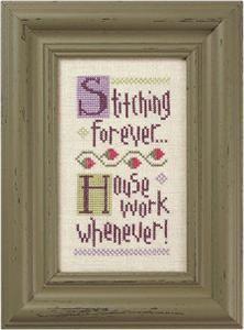 Stitching Forever.. Cross Stitch Pattern