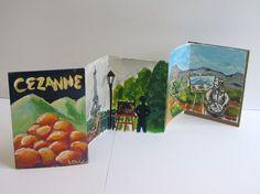 Artist accordion books Digication e-Portfolio :: erin evans :: 2-D Design