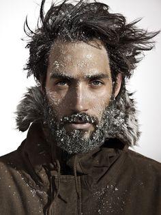 It's winter. Get thee in a beard.