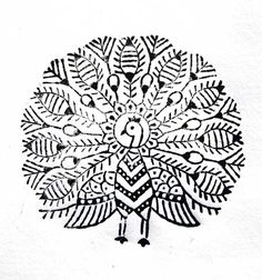 indian woodblock fabric stamp