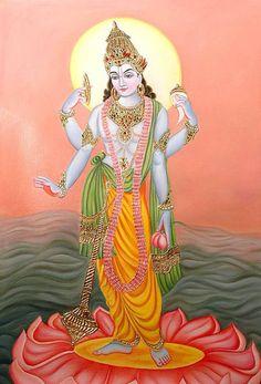 Lord Satyanarayana Bhagwan - Hindu God Photo, Hindu Goddess
