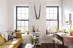 Eke Out More Space: Put Your Windowsills to Work