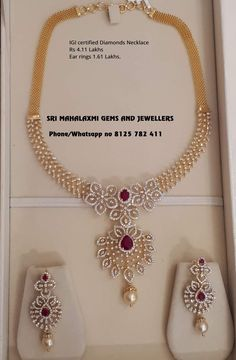 Jewelry Stores Near Me Open Now above Kinsley Armelle Jewellery Near Me these Earring Organizer Homemade provided Wedding Diamond Necklace Set With Price Diamond Necklace Set, Diamond Jewelry, Dimond Necklace, Gold Necklace, Bridal Necklace, Drop Necklace, Stone Necklace, Gold Jewelry, Jewelry Necklaces