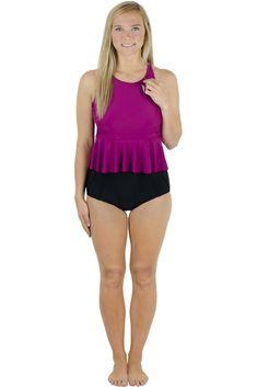 b9673a5dd3 Latched Mama Racerback Nursing Swim Top for breastfeeding moms | swimwear  breastfeeding fashion | newborn