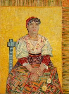 Vincent van Gogh, Italian Woman, 1887, Musée d'Orsay, Paris