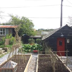 rebecca proctor Garden Trellis, Shed, Pottery, House Styles, Instagram, Home Decor, Ceramica, Lean To Shed, Interior Design