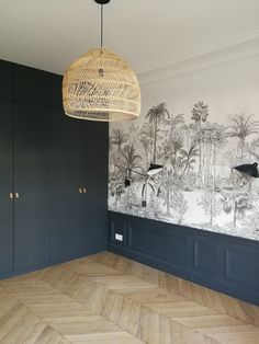 Discover recipes, home ideas, style inspiration and other ideas to try. Bedroom Murals, Home Bedroom, Home Living Room, Bedroom Decor, Living Room Shelves, Room Inspiration, Interior Inspiration, Interior Tropical, Sage Green Bedroom