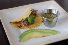 I usually make these on the stove, tried the crockpot today, house is smelling great. These are very close to a taco truck, served with fresh sweet onion, radishes, cilantro and lime on top. Recipe: Pork Carnitas Tacos with Tomatillo Salsa
