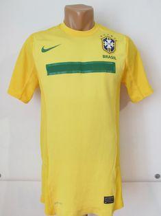 0c3183ac2 Brazil 2011 2012 home player issue football shirt soccer jersey camiseta  nike m