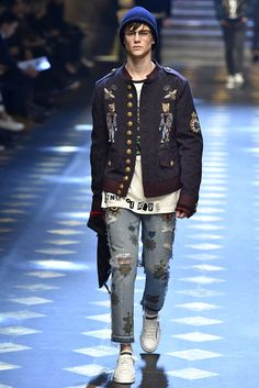 Dolce Gabbana Milan Menswear Fall Winter 2017, desfile masculino, tendencia masculina, inverno 2017, winter 2018, alex cursino, blog de moda, moda sem censura (104)