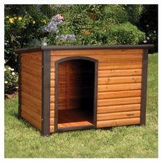 Dog house for big outside dogs!  Perfect for Max & Daisy