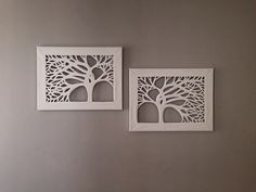 Canvas Cut Trees