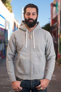 Iron Heart - Loopwheeled hooded sweater