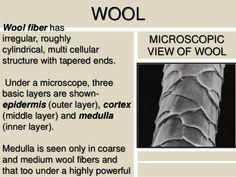 wool fiber under microscope - Google Search