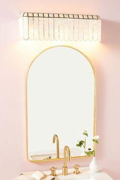 Madelyn Faceted Vanity Sconce | Anthropologie