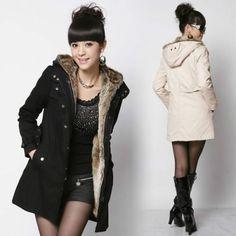 Fashion Women Thicken Warm Winter Coat Hood Parka Overcoat Long Jacket Outwear #unbranded #Parka