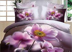 Highest-Price、 Classy and fashion Floral Bedding Sets online shopping site Pink Bedding Set, 3d Bedding Sets, Floral Bedding, Bedding Sets Online, Purple Bedding, Comforter Sets, Bed Sets, Cama Floral, Purple Bedrooms