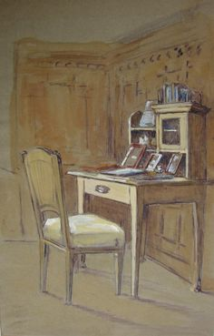 interior house painting wien 1900 - Cerca con Google