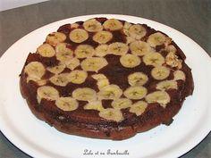 Gâteau bananes & chocolat