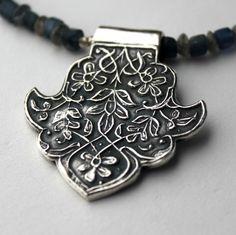 Penny Ann Keller Herring's beautiful leaf pendant.