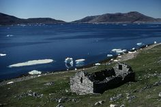 Viking church ruins Greenland