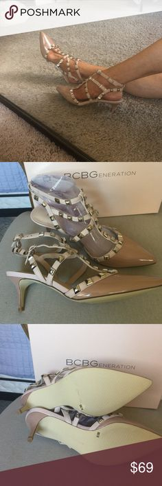 Additional pics of the rock stud shoes More pics BCBG Shoes Heels