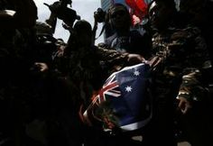 (Reuters) – Indonesians burned Australian flags on Thursday over reports Australia's spies tried to tap the phones of President Susilo Bambang Yudhoyono and his wife, plunging relations between the neighbors to their lowest point since the late 1990s. About 200 people marched to the heavily fortified Australian embassy in Jakarta – the scene of a […]