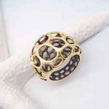 Schwarz gold Steampunk Punk Vintage Gothic Design Ring Ø mm neu Vintage Gothic, Black Rhodium, Ring Designs, Steampunk, Rings, Floral, Gold, Jewelry, Jewellery Making