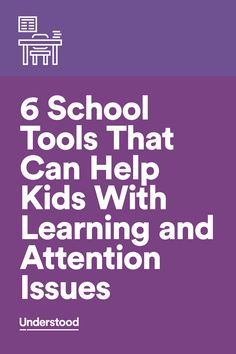 Your child's teacher may be using innovative tools in class—tools that you're not even aware of! Here are six apps, websites and approaches our experts use to help kids with sensory issues, reading issues, attention issue and more.