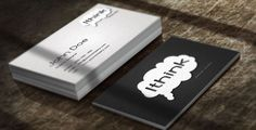 Designs For Sale by Jeasy Sehgal, via Behance Understanding The Times, Double Sided Business Cards, Can Design, Creating A Brand, How To Raise Money, Custom Design, How To Memorize Things, Cards Against Humanity, Templates