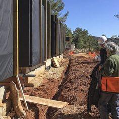 Ca l'Amo - Marià Castelló · Architecture Wood Cladding Exterior, Dry Stone, Mountain Modern, Ibiza, Countryside, Addiction, New Homes, Island, Landscape