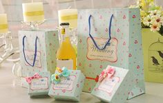 20 pieces Multi-Paper Wedding Party Bags Sweets Wedding Candy Gifts Boxes16071409