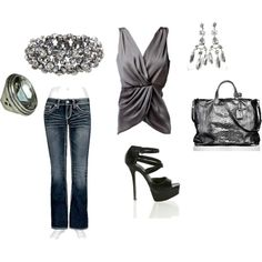 Let's go OUT!, created by abund.polyvore.com