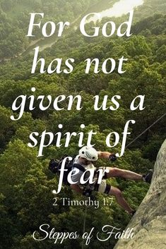2 Timothy We do not have a spirit of fear - Steppes of Faith Biblical Quotes, Prayer Quotes, Bible Verses Quotes, Bible Scriptures, Spiritual Quotes, Faith Quotes, Spirit Of Fear, Favorite Bible Verses, Visual Statements