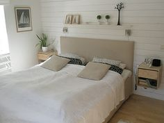 White and Sand, Bathroom Decor, Interior Design, Furniture, House, Bed, Home, Decor Interior Design, Interior, Bedroom Inspirations
