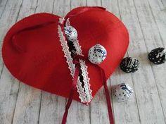 Cuore porta cioccolatini in feltro per San Valentino   Hobby e Creatività