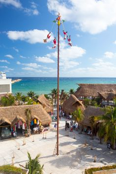 Puerto Costa Mayá, Mexico | Make a splash in Costa Maya with a spectacular day spent sliding, zip-lining and swimming your way around the action-packed Mayá Lost Mayan Kingdom waterpark.