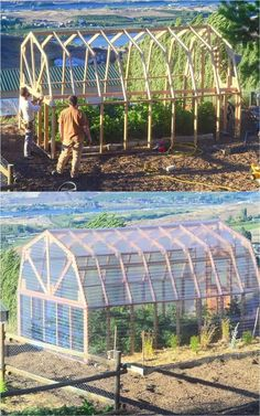 Hydroponic Gardening Ideas Ultimate collection of THE BEST tutorials on how to build amazing DIY greenhouses, hoop tunnels and cold frames! Lots of inspirations to get you started! Diy Greenhouse Plans, Backyard Greenhouse, Small Greenhouse, Greenhouse Wedding, Pallet Greenhouse, Plastic Bottle Greenhouse, What Is A Conservatory, Aquaponics System, Aquaponics Fish