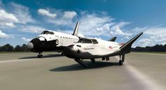 """Dream Chaser is derived from NASA's HL-20 spacecraft, which at one point was going to serve as a """"lifeboat"""" for the International Space Stat..."""