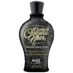 Devoted Couture Noir Indoor Tanning Lotion - Rapid Release bronzing blend will allow dark color to develop faster, for deeper, darker more even long lasting results.