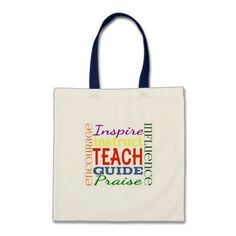 Teacher Word Picture Teachers School Kids Tote Bag