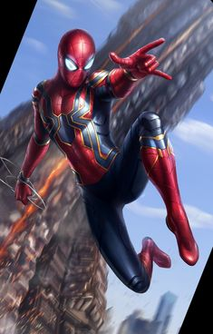 We all know that very soon we will be watching Avengers But even before that we are getting ready for the release of upcoming Captain Marvel Movie. Marvel Fanart, Marvel Comics, Heros Comics, Bd Comics, Marvel Heroes, Captain Marvel, Spiderman Art, Amazing Spiderman, Spiderman Images