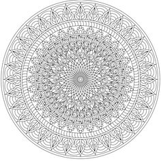 The woods are lovely, dark and deep. But I have promises to keep, and miles to go before I sleep. Mandala Coloring Pages, Coloring Book Pages, Coloring Sheets, Mandala Pattern, Mandala Design, Mandala Art, Free Adult Coloring, Printable Adult Coloring Pages, Tachisme