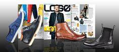 Jesienno – zimowa kolekcja marki Wojas to ponadczasowa elegancja w nowoczesnym wydaniu. Styliści magazynu LOGO wyróżnili cztery modele z męskiej kolekcji marki: zamszowe półbuty (4011/66) http://wojas.pl/produkt/14002 , brązowe trzewiki (3201/53), sztyblety (4208/51) http://wojas.pl/produkt/16894 oraz sportowe trzewiki w odcieniu granatu (4255/56) http://wojas.pl/produkt/16817 . Polecamy!