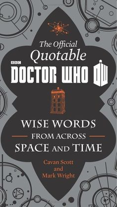doctor who book officialy quotable