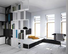 Teen room Design  multi-functional space
