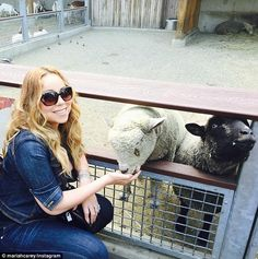 Fan favorite: The singer gave a shout-out to her fans, who she calls her 'lambily'